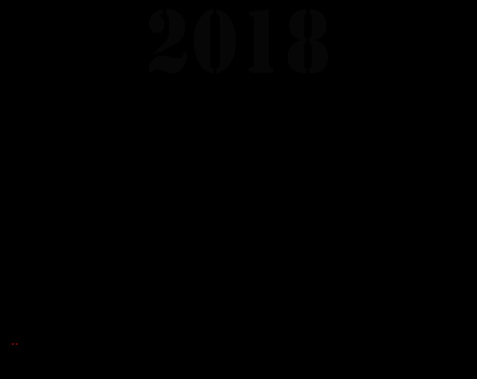 Calendar By Mônica Michielin Base Para Calendário 2018 Em