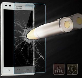 Demo tempered Glass yang menunjukkan kemampuan Tempered Glass melindungi layar