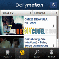 DailyMotion Video Client for Nokia N8 & Belle smartphones