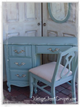 Sensational Duck Egg Blue Desk Machost Co Dining Chair Design Ideas Machostcouk