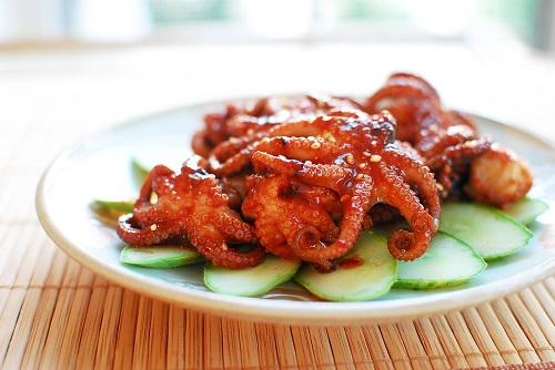 Jjukkumi Gui Spicy Grilled Baby Octopus Korean Bapsang