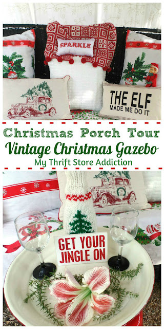 Vintage Christmas Gazebo