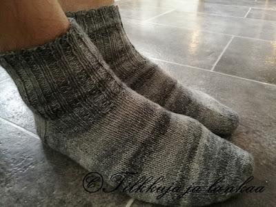 perussukat, miesten sukat, fabel print, villasukat