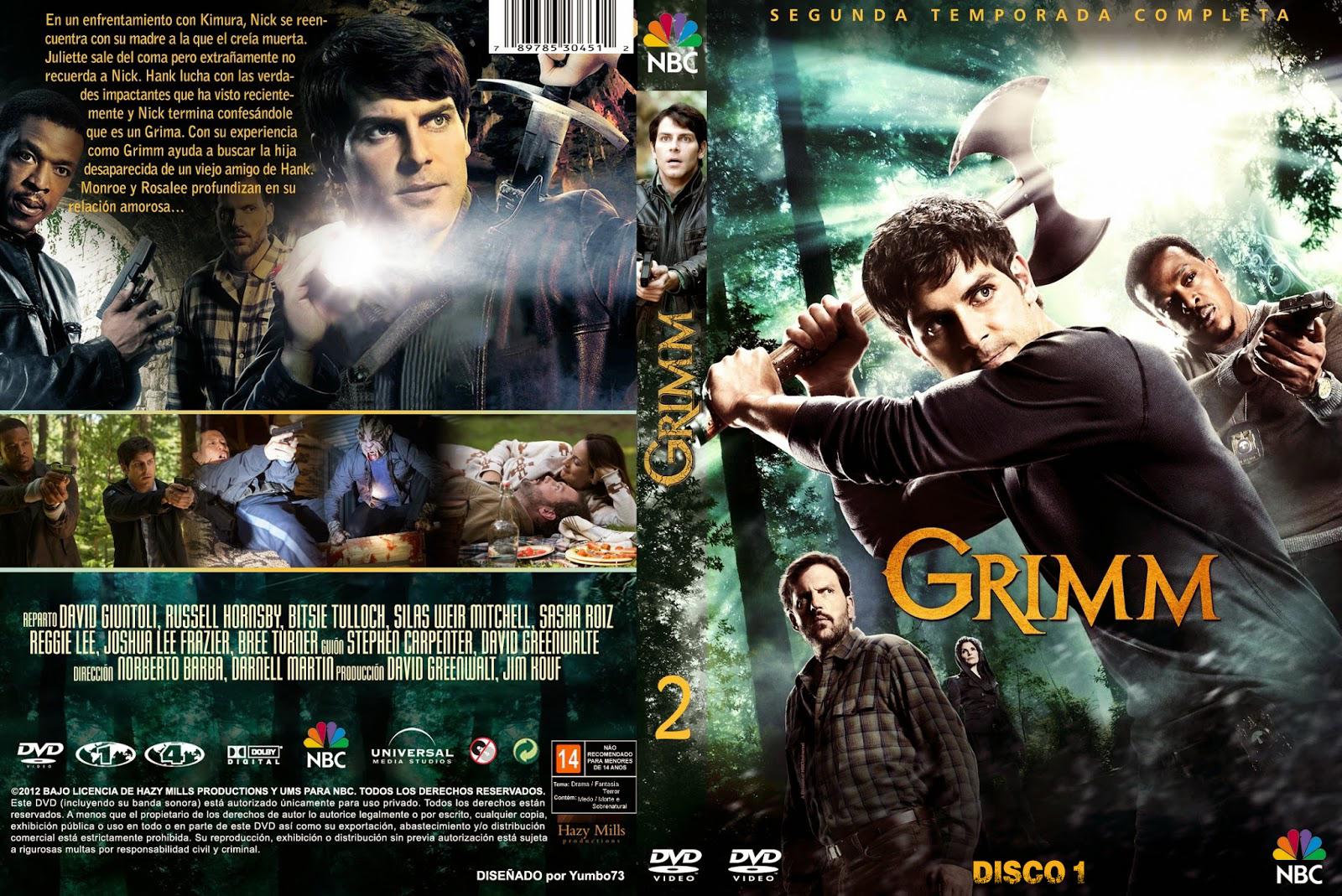Resultado de imagem para Grimm – 2ª Temporada