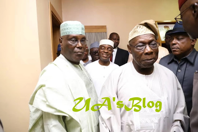 BREAKING: Bishop Kukah, Sheikh Gumi, Pa Adebanjo, others join Obasanjo's meeting with Atiku, PDP leaders