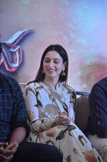 TAMANNAH BHATIA stills at Baahubali-2 Tamil movie press meet