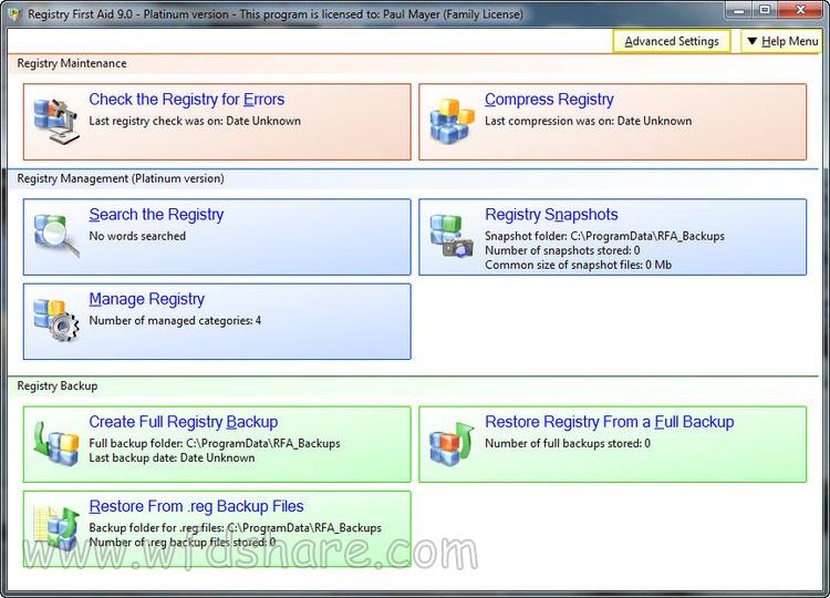full version Registry First Aid Platinum rip setup gratis lol