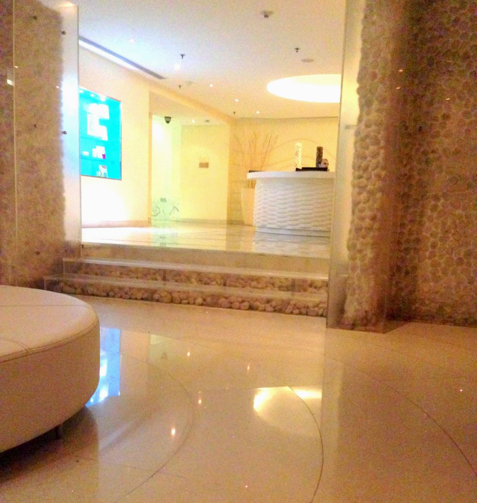 Quan Spa Mumbai Reception Area
