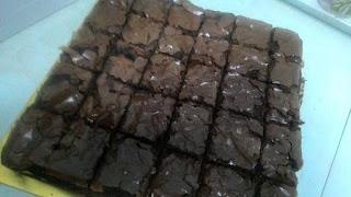 Resepi Brownies Kedut Mudah