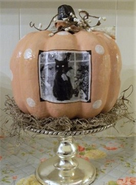 How to make a PHOTO Pumpkin