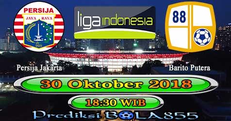 Prediksi Bola855 Persija Jakarta vs Barito Putera 30 Oktober 2018