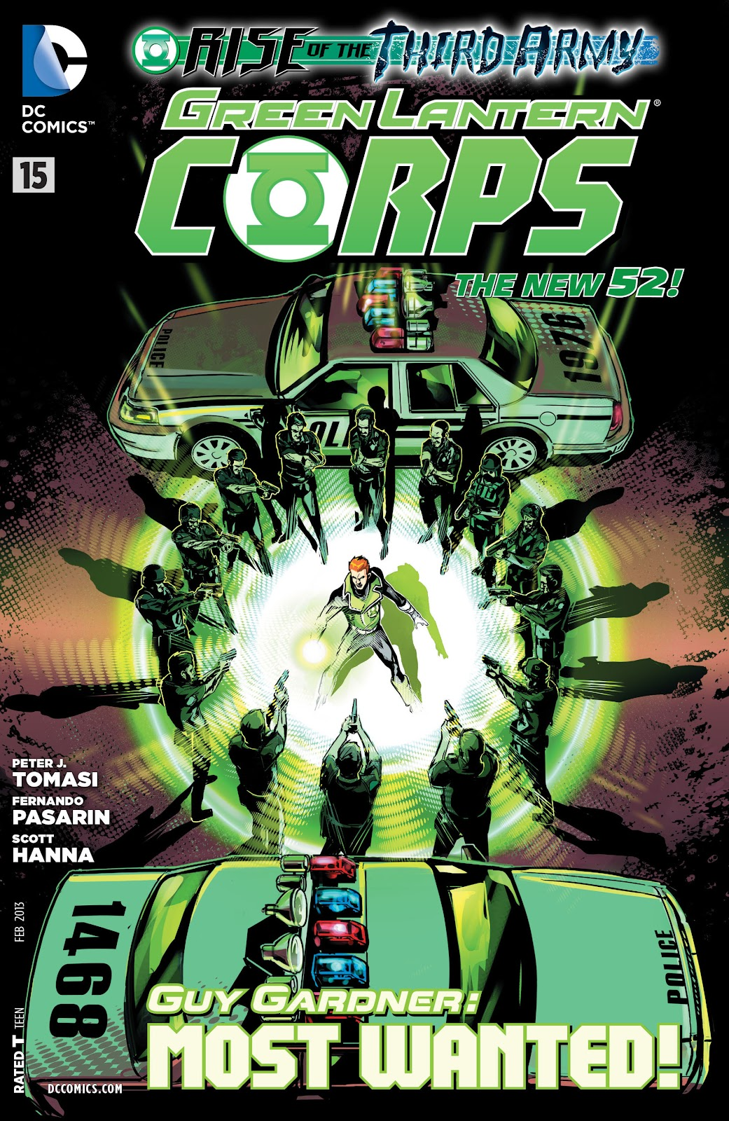 Green Lantern Corps (2011) issue 15 - Page 1