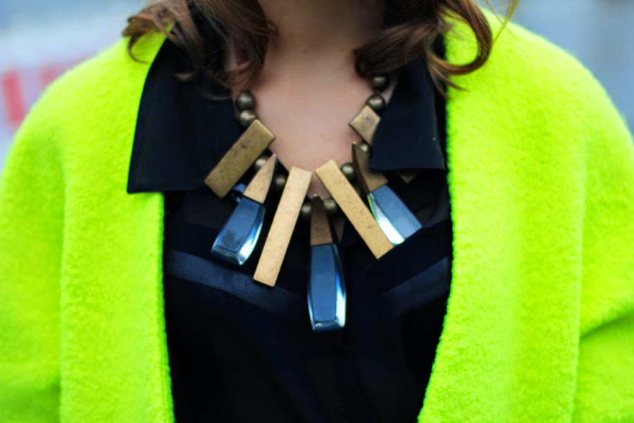 coar reserved statement necklace berlin fashion week detail streetstyle