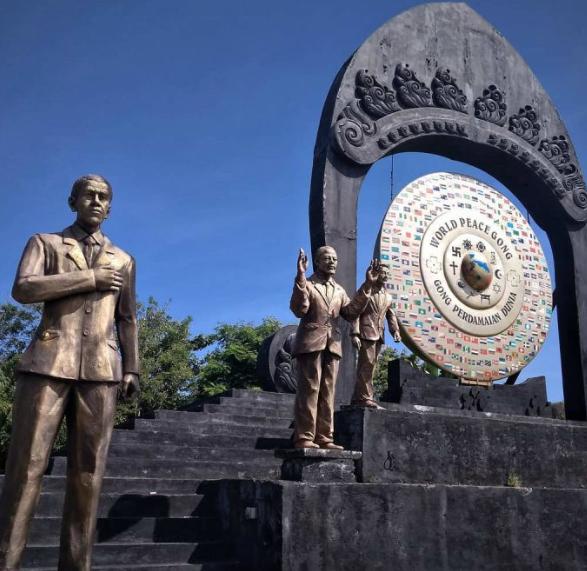 Taman Gong Perdamaian Kertalangu Bali