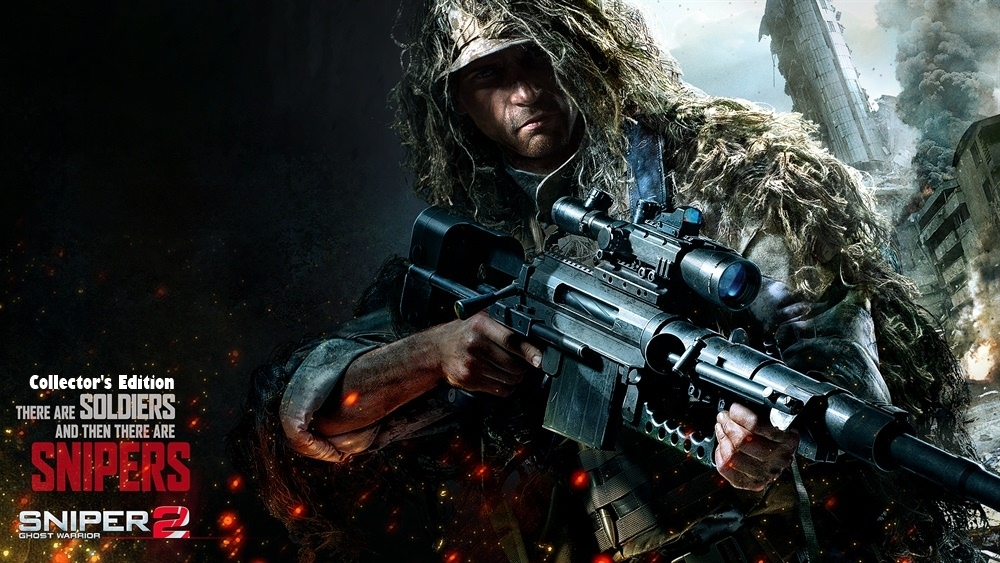 Sniper Ghost Warrior 2 Collector's Edition Poster