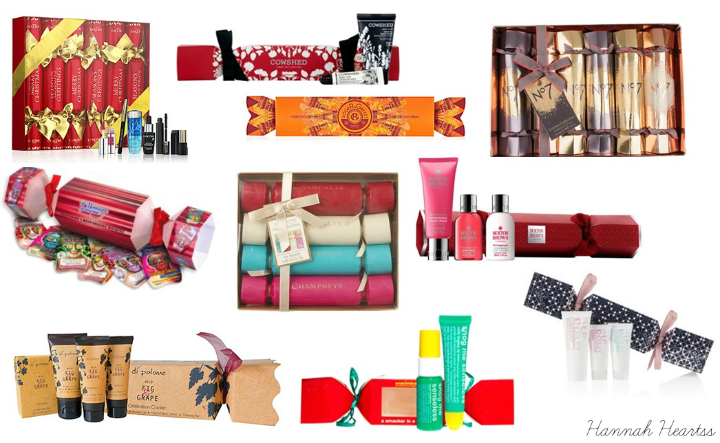 Christmas Beauty Crackers 2014