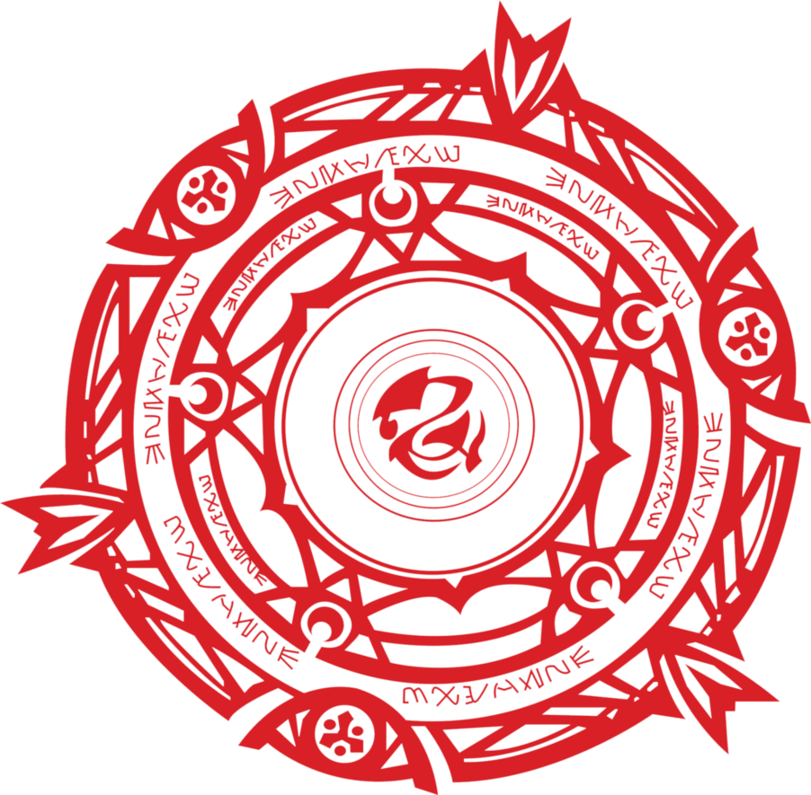 render Gremory clan crest from Highschool DxD.