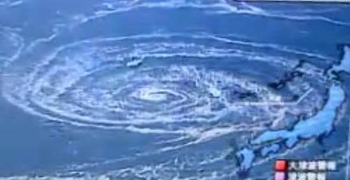Uzumaki Whirlpool From Japan Tsunami, Shinmoedake Volcano ...