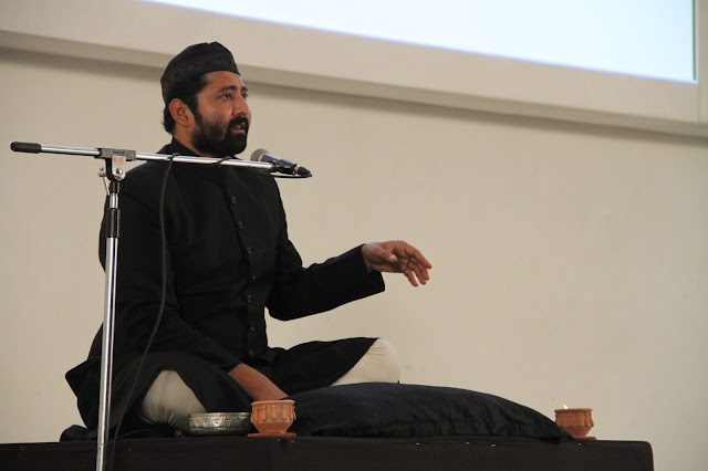 Soz Khawani performance by Askari Naqvi at Godrej India Culture Lab