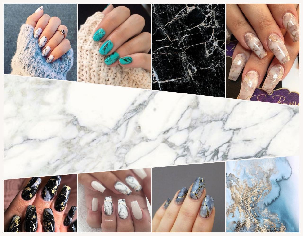 Marble Nails: Dieser elegante Nageltrend ist der Beauty-Favorit auf Pinterest
