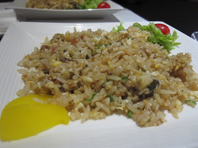 The Oyster and Crab Restaurant, oyster fried rice