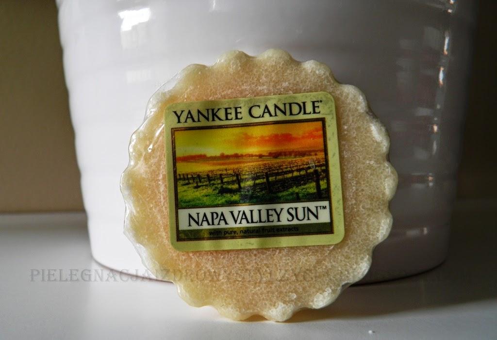 Yankee Candle: Napa Valley Sun i Vanilla Satin