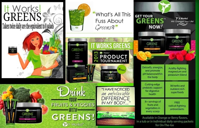 Greens by it works reviews