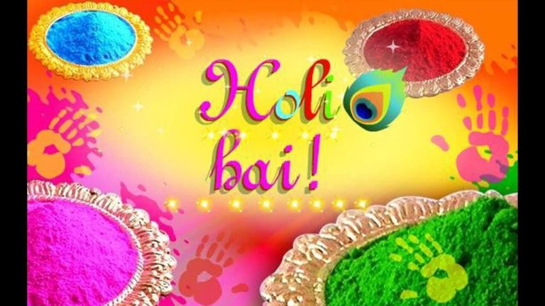 hpoli images to free download 768x432 - Best Shayari images of holi 50+