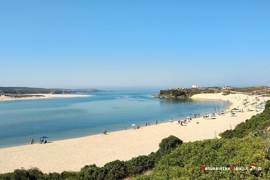 Praia Franquia, Vila Nova Milfontes