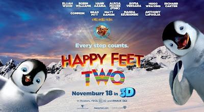 Fyra nya klipp från Happy Feet 2