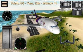 Flight Pilot Simulator 3D V1.28 Mod Apk Terbaru