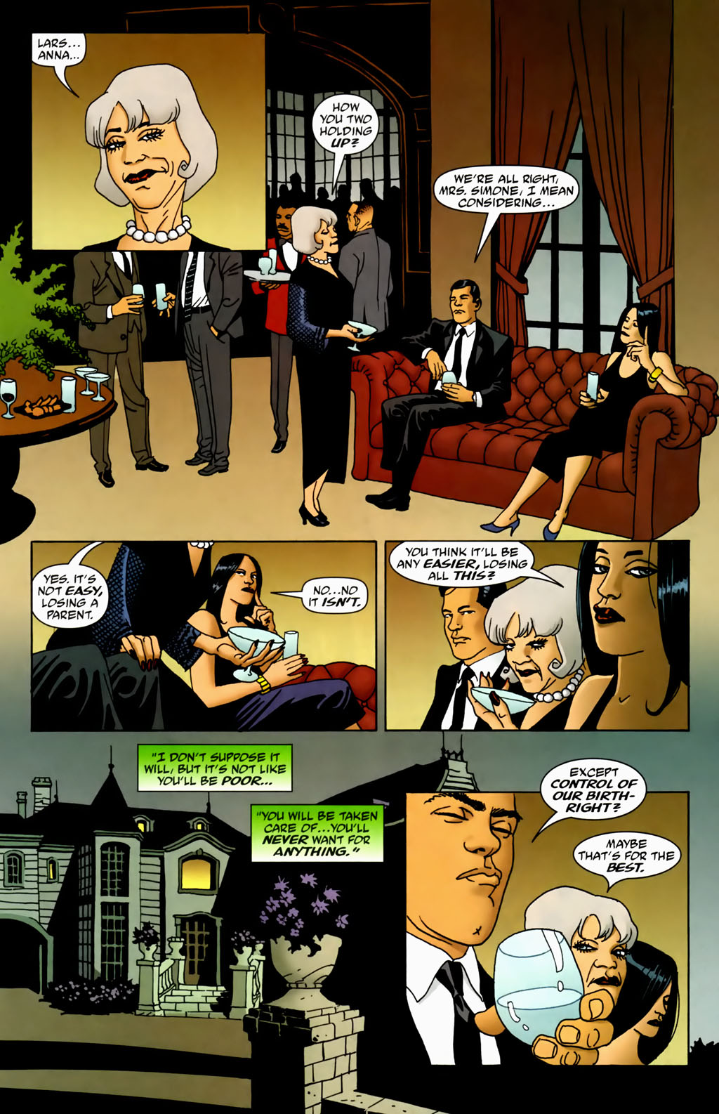 Read online 100 Bullets comic -  Issue #70 - 8