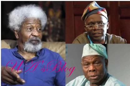 This man is one of Nigeria's major problems - Soyinka, Falana point at Obasanjo