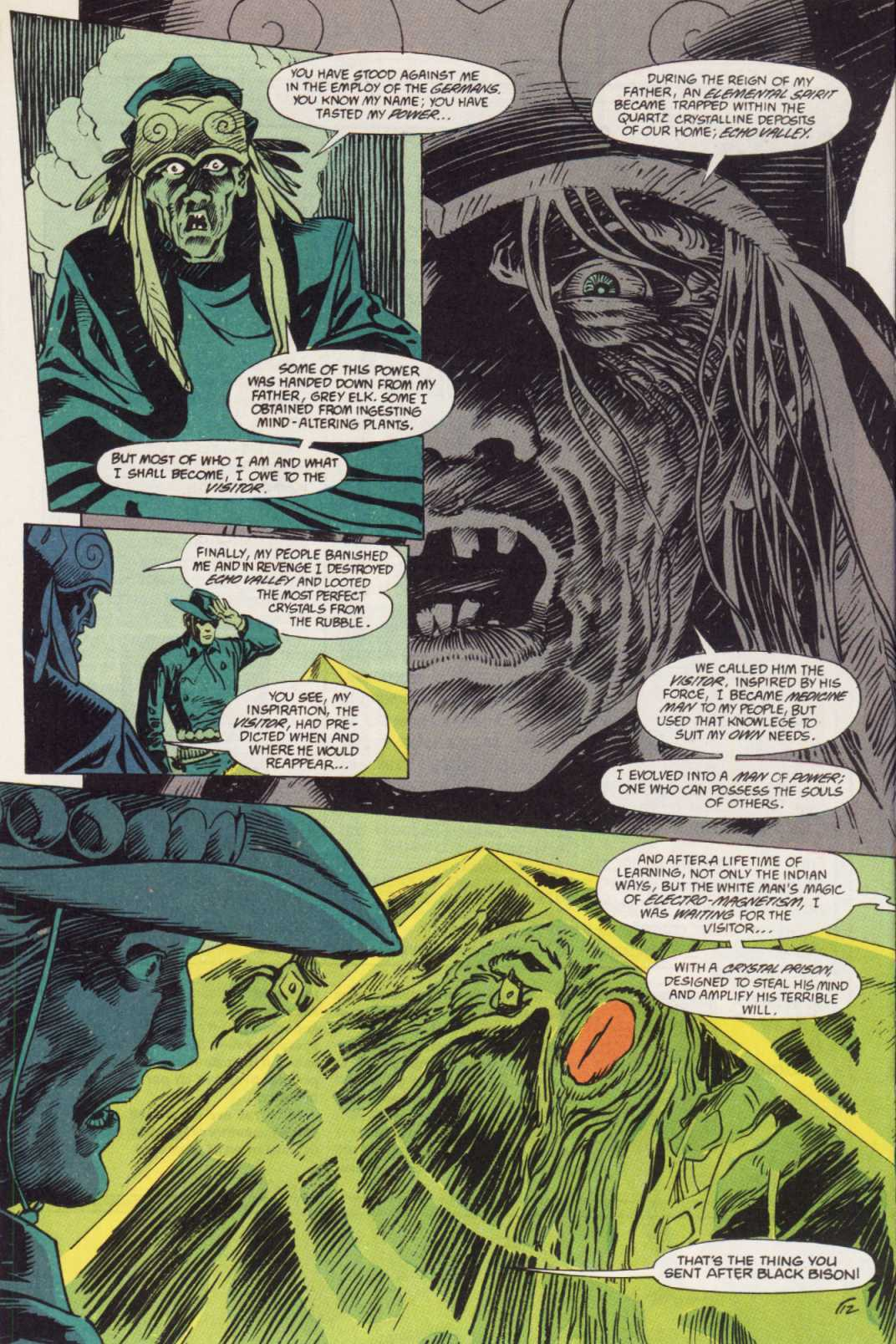 Swamp Thing (1982) Issue #85 #93 - English 12