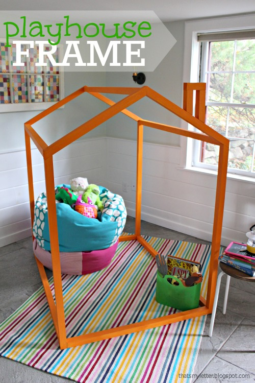 Ana White 2x2 Indoor Playhouse Frame Diy Projects