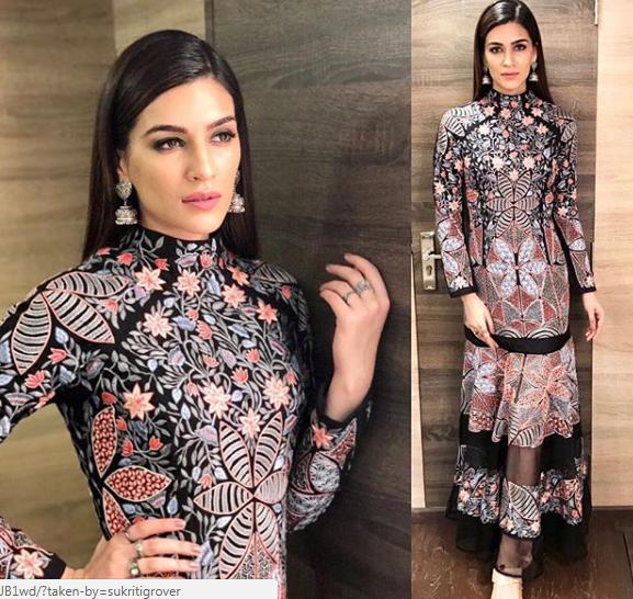 Kriti Sanon's wardrobe is a bible to Indian wear