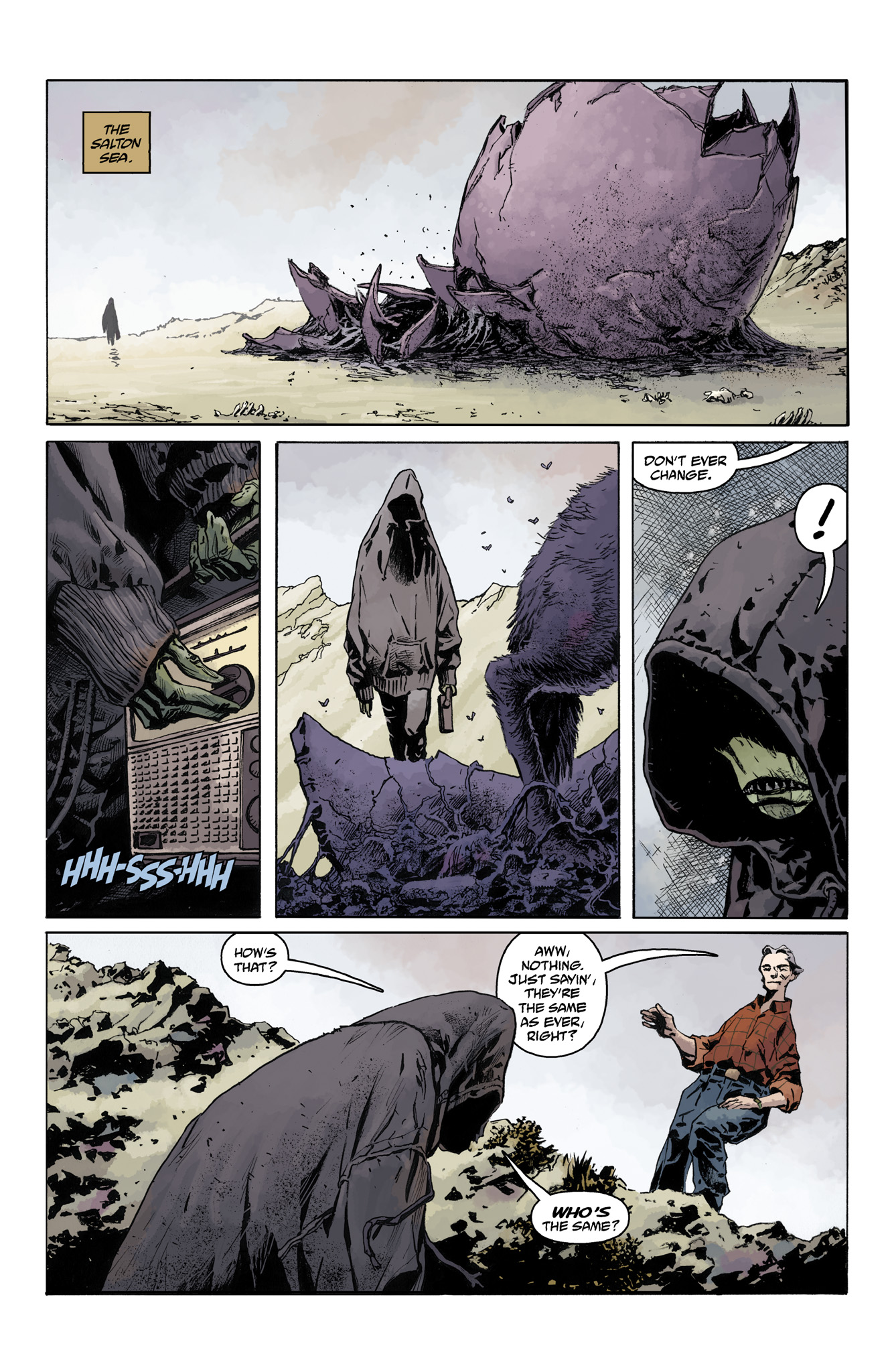 Read online Abe Sapien comic -  Issue #4 - 8