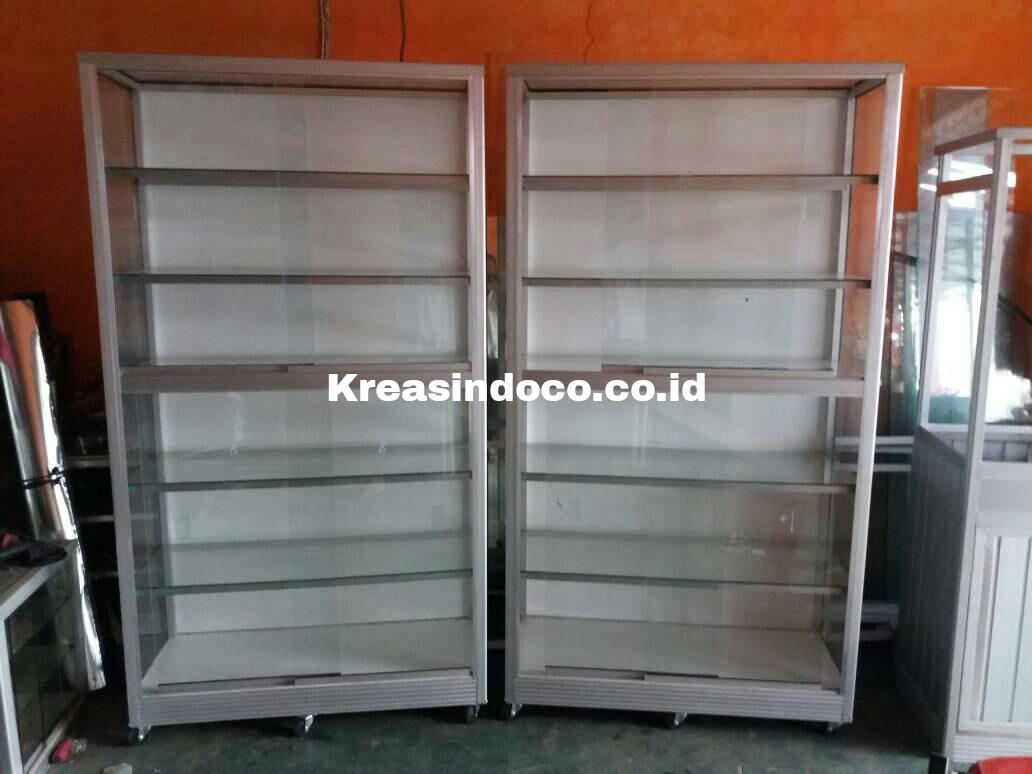 Etalase Aluminium Pesanan Bpk Nugroho Pondok Rajeg Cibinong