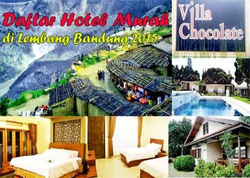 Daftar Hotel Murah di Lembang Bandung 2016