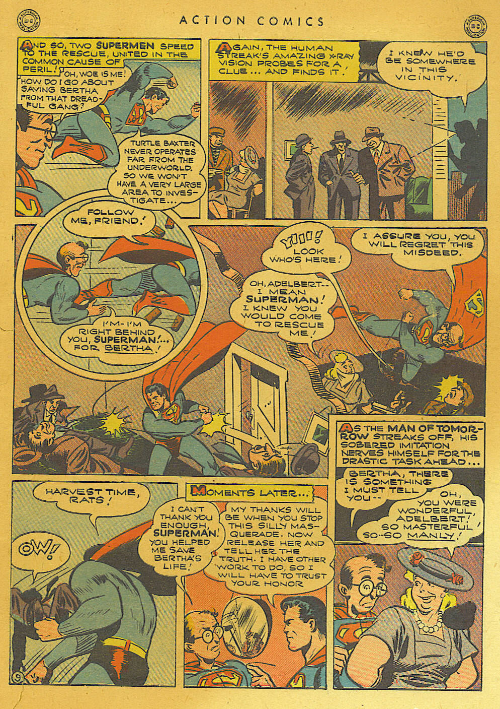 Read online Action Comics (1938) comic -  Issue #74 - 11