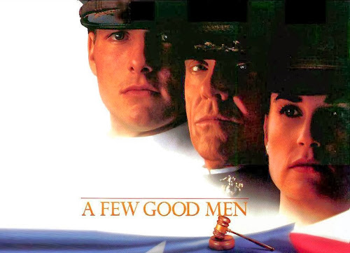 Poster Of A Few Good Men (1992) In Hindi English Dual Audio 300MB Compressed Small Size Pc Movie Free Download Only At worldfree4u.com