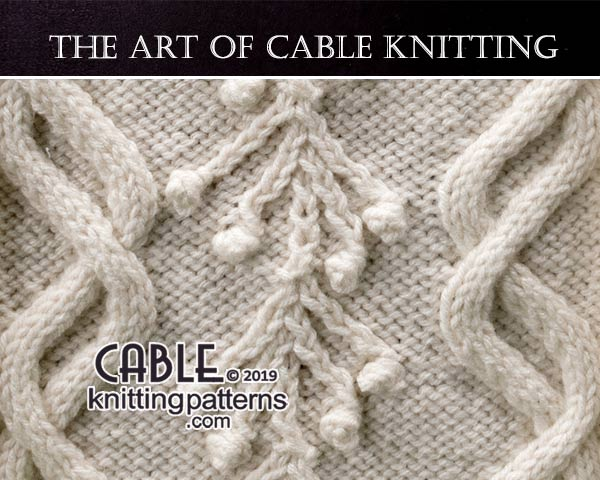 The Art of CABLE KNITTING -free pattern 35