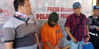 Pelaku Pembunuhan di Jalan Sapta Taruna Ujung Pekanbaru Terungkap