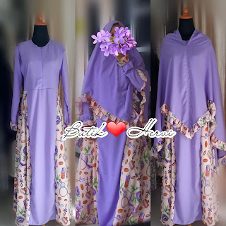 Purple Syar'i By Hervi