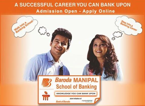 bank of baroda manipal university 2014 15