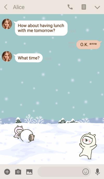 fool alpaca @Winter special (Theme)