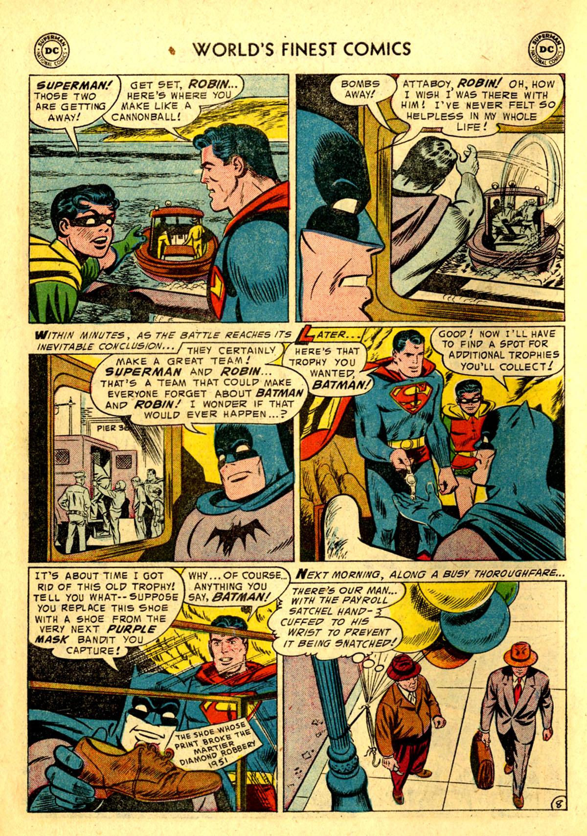 Read online World's Finest Comics comic -  Issue #75 - 10