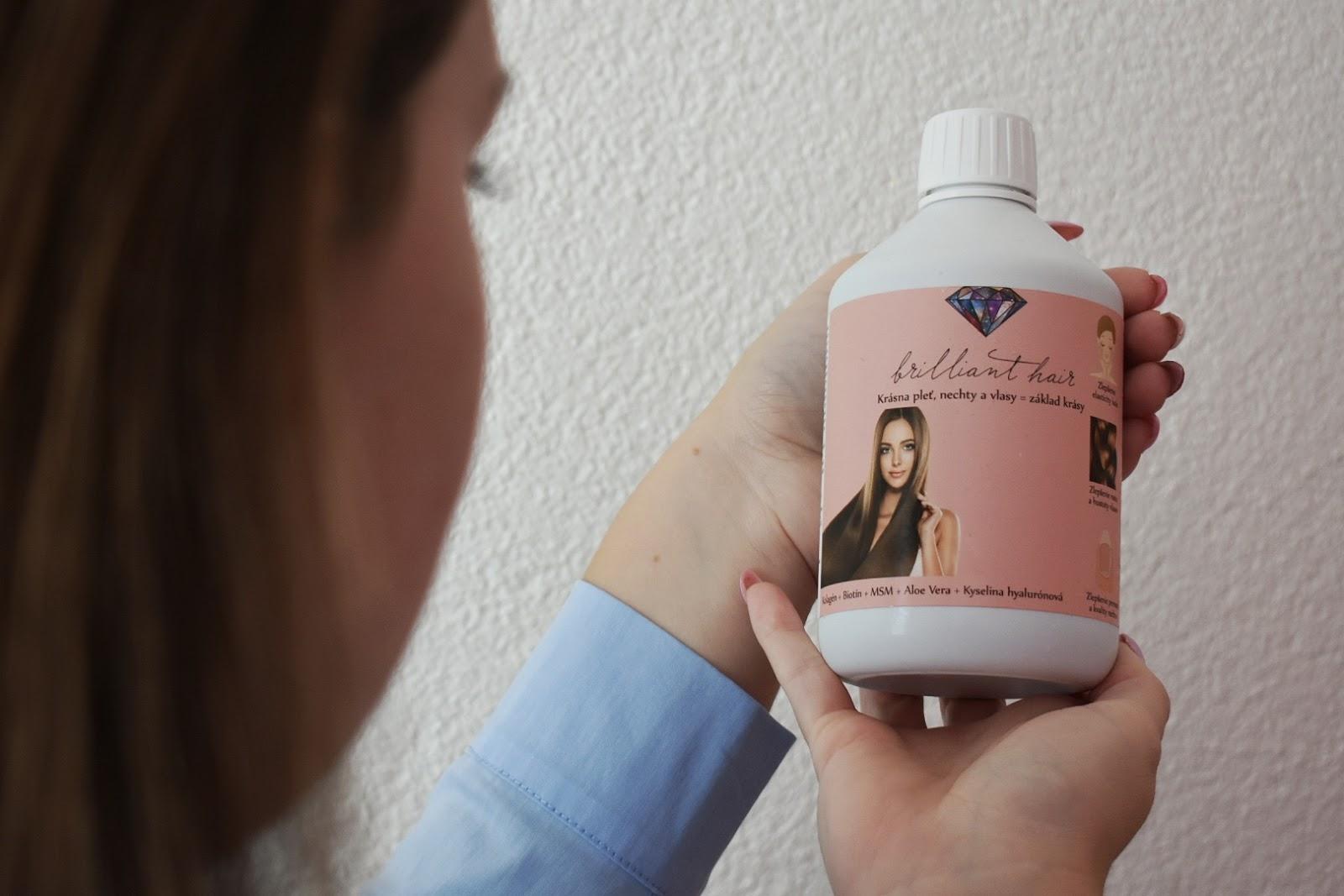 4975758b4 Zmena je jednoducho viditeľná a ja som nesmierne šťastná a spokojná, že  šampón a vitamíny zmenili moju korunu krásy.