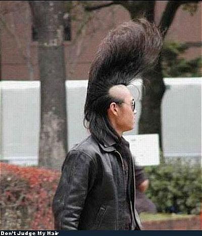excitement n net funny hairstyles of men