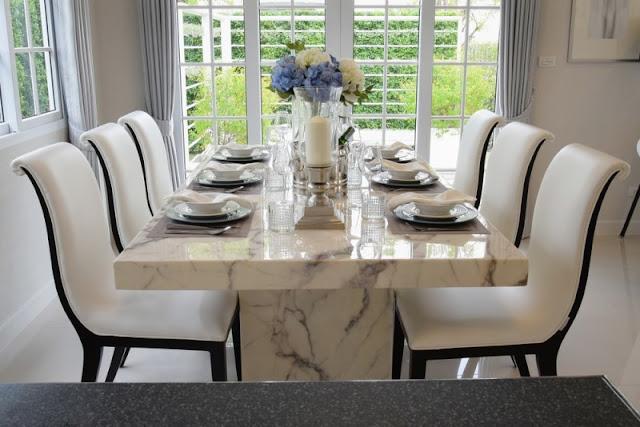 แบบโต๊ะกินข้าวเพิ่มรสชาติให้กับมื้ออร่อยของครอบครัว ตก